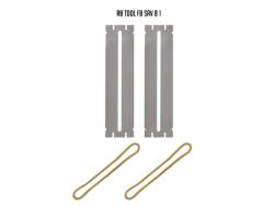Blaszki ochronne do czyszczenia progów (bass M)