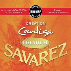 Struny do klasyka SAVAREZ Cantiga Premium 510 MRP