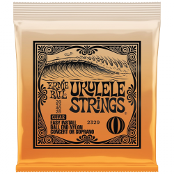Struny do ukulele ERNIE BALL EB 2329 Clear (kulka)