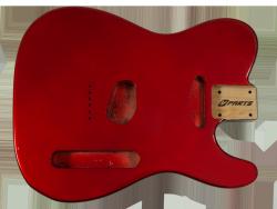 Korpus do gitary VPARTS TE-1G (MRD)