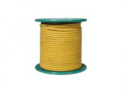 Kabel vintage w bawełninaym oplocie (YL)