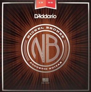 Struny D'ADDARIO Nickel Bronze NB1356 (13-56)
