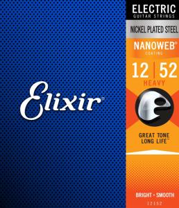 Struny ELIXIR NanoWeb Nickel Plated (12-52)