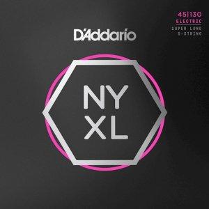 Struny D'ADDARIO Nickel Wound NYXL (45-130) SL 5s.