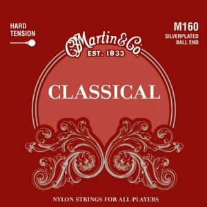 Struny do klasyka MARTIN Classical M160 Ball End