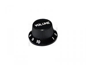 Gałka wciskana, calowa HOSCO KB-240VI (BK)
