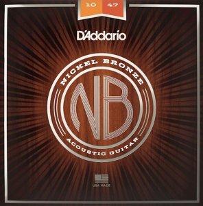 Struny D'ADDARIO Nickel Bronze NB1047 (10-47)