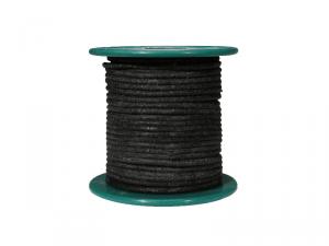 Kabel vintage w bawełninaym oplocie (BK)