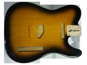 Korpus do gitary VPARTS BT-1AG (2TS)