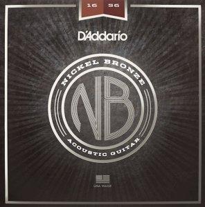 Struny D'ADDARIO Nickel Bronze NB1656 (16-56)