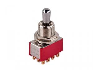 Przełącznik 4PDT on-on-on maxi MEC 80019 (CR)