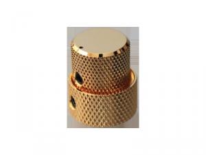 Gałka metalowa podwójna GOTOH VK15T/18T (GD)