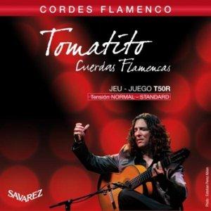 Struny do klasyka SAVAREZ Tomatito T50R (flamenco)