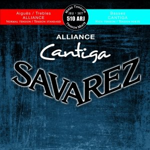 Struny do klasyka SAVAREZ Cantiga 510 ARJ