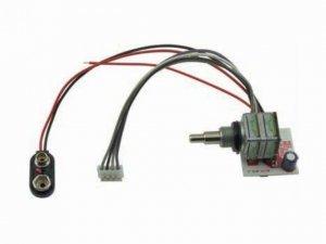 2-pasmowy EQ&POT moduł do aktywnych przetworników MEC M 60904 leworęczny
