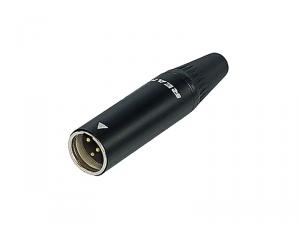 REAN by Neutrik - mini XLR RT3MC-B (męskie)