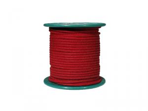Kabel vintage w bawełninaym oplocie (RD)