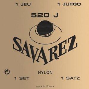 Struny do klasyka SAVAREZ Nylon 520 J