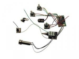 3-pasmowy equalizer MEC do basu FNA JM Ltd '02  M 60058 leworęczny