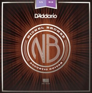 Struny D'ADDARIO Nickel Bronze NB1152 (11-52)