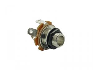 Gniazdo jack mono 6,3mm BOSTON SJ-2 (BK)