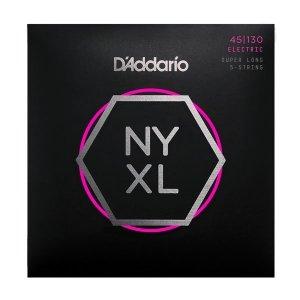 Struny D'ADDARIO Nickel NYXL (45-130) SL 5str.