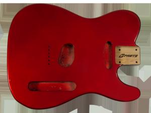 Korpus do gitary VPARTS BT-1AG (MRD)