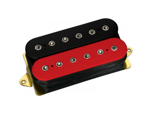 DIMARZIO DP100FRD+BK Super Distortion (RD+BK)