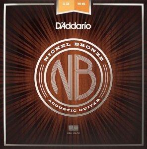 Struny D'ADDARIO Nickel Bronze NB1256 (12-56)