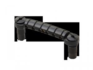 Aluminiowy zaczep strun GOELDO Wrapper (BK)