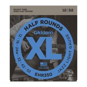 Struny D'ADDARIO Half Rounds EHR350 (12-52)