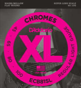 Struny D'ADDARIO Chromes ECB81SL (45-100)