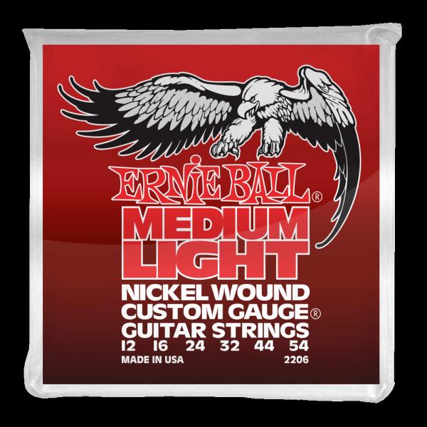 Struny ERNIE BALL 2206 Nickel Wound (12-54)