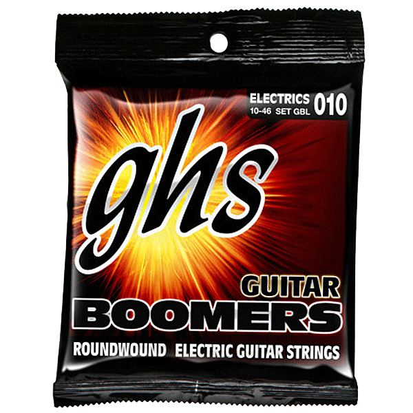 Struny GHS Boomers Roundwound (10-46) Light