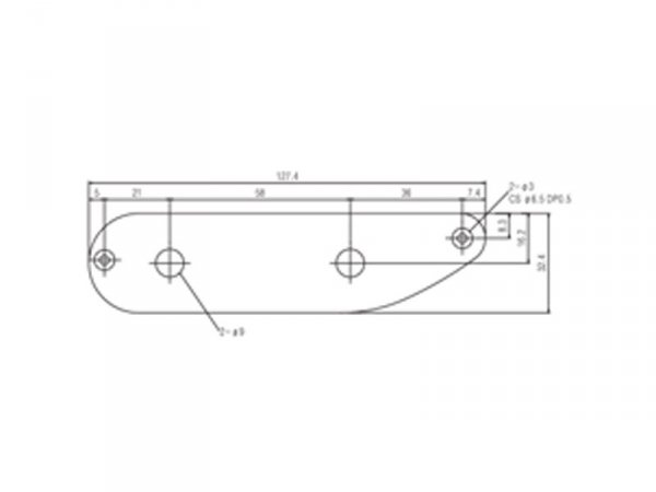 Płytka elektroniki SUNG IL HC006 (PB, chrom)