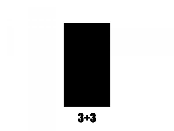 Klucze do gitary GROVER  STA-TITE V98 (CR, 3+3)