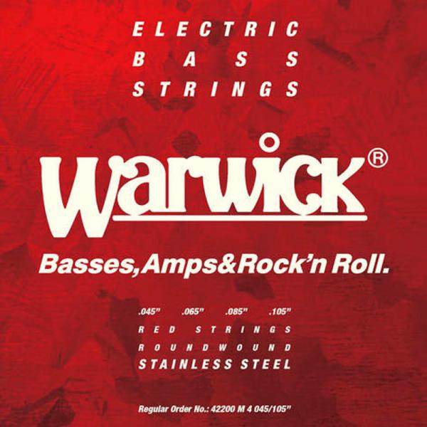 Struny do basu WARWICK Stainless Steel (45-105)