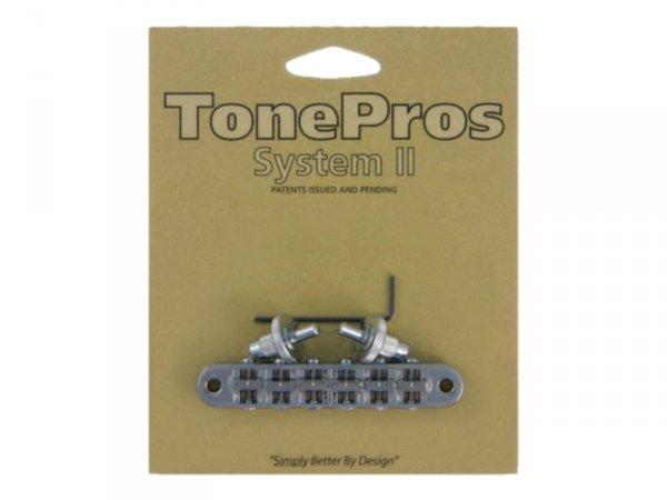 Mostek tune-o-matic TONEPROS T3BP 4,2mm (CR)