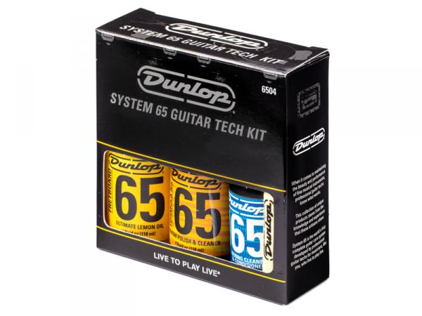 Zestaw DUNLOP System 65 Guitar Tech Kit