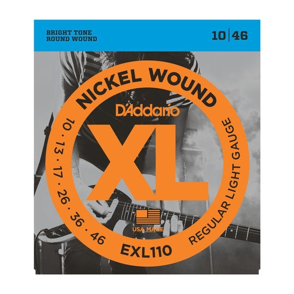 Struny D'ADDARIO XL Nickel Wound EXL110 (10-46)