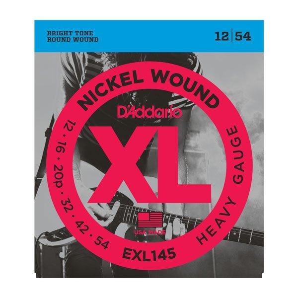 Struny D'ADDARIO Nickel Wound EXL145 (12-54)