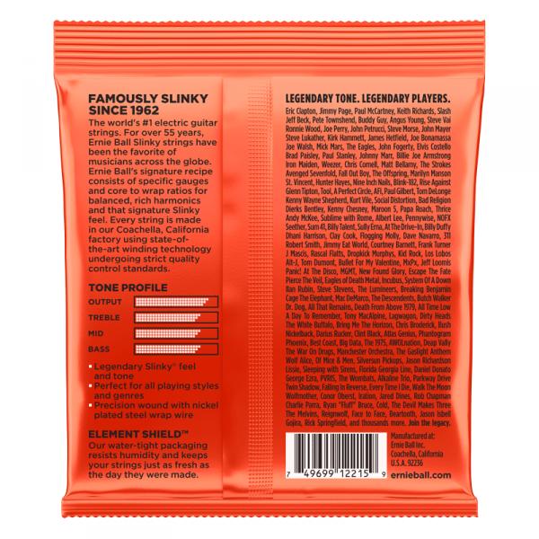 Struny ERNIE BALL 2215 Nickel Slinky (10-52)