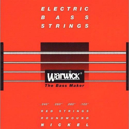 Struny WARWICK 46210 (40-100) Nickel Plated Steel