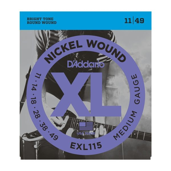 Struny D'ADDARIO XL Nickel Wound EXL115 (11-49)