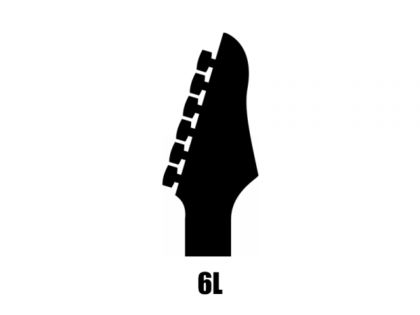 Klucze do gitary GROVER Mid-Size Roto 305 (GD,6L)