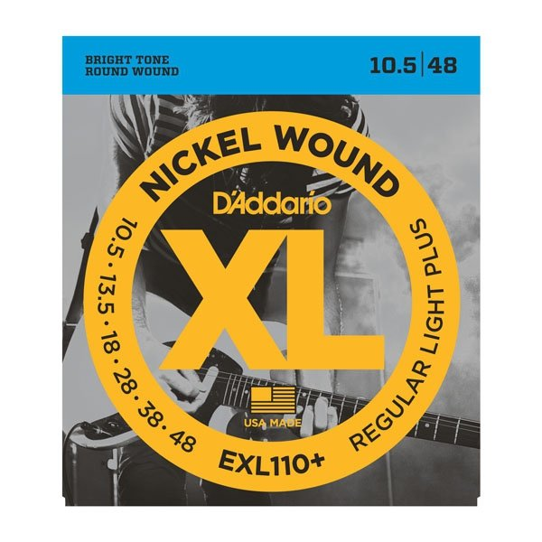 Struny D'ADDARIO XL Nickel Wound EXL110+ (10,5-48)