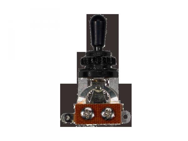 Przełącznik 3-pozycyjny BOSTON SW-23 (BK/BK)