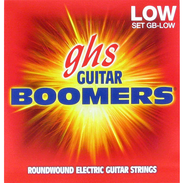 Struny GHS Boomers Roundwound (11-53)