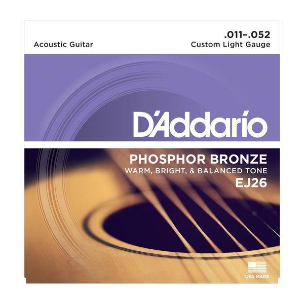 Struny do akustyka D'ADDARIO EJ26 (11-52)