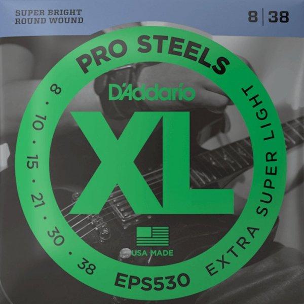 Struny D'ADDARIO XL ProSteels EPS530 (8-38)